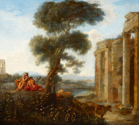 Claude Lorrain - Mercury and Argus