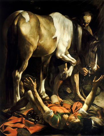 Caravaggio - Conversion of Saint Paul