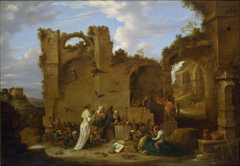 David Teniers the Younger - The Temptation of St. Anthony