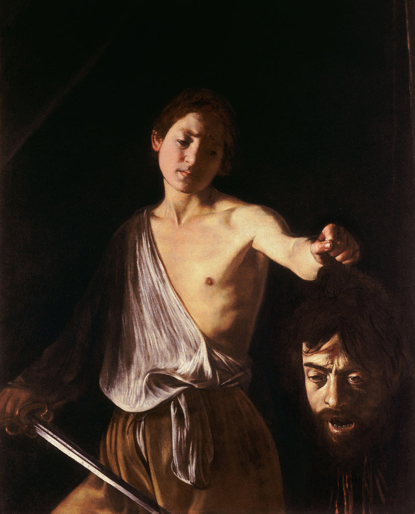 Caravaggio - David with the Head of Goliath