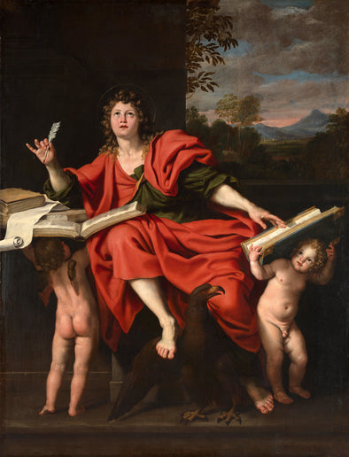 Domenichino - St. John the Evangelist