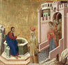 Duccio di Buoninsegna - Christ and the Samaritan Woman