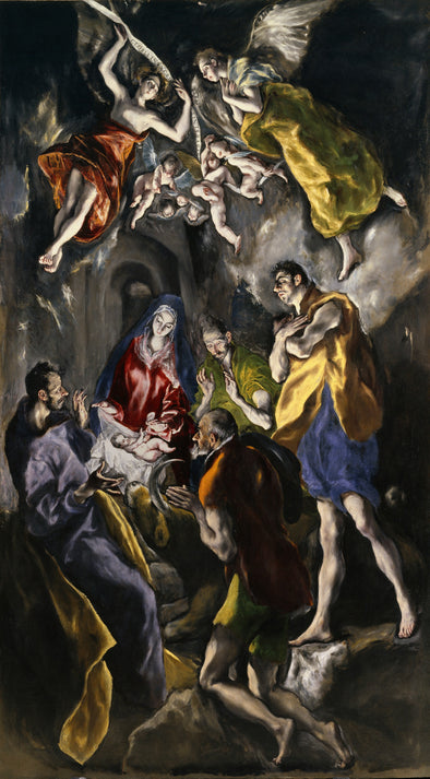 EL Greco - The Adoration of the Shepherds