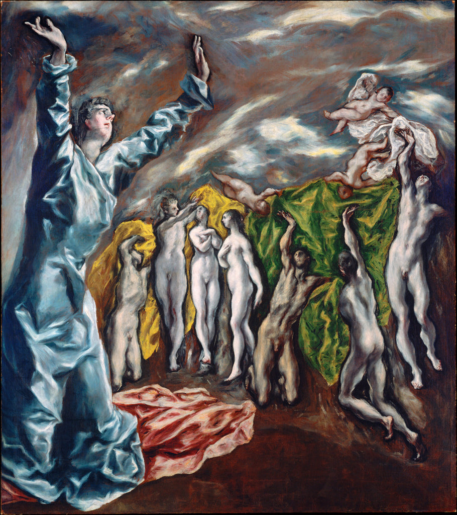 EL Greco - The Vision of Saint John (The Opening of the Fifth Seal)