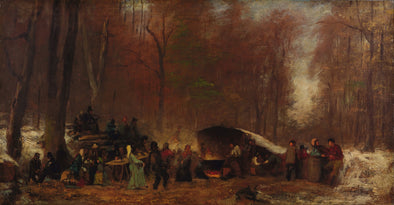 Eastman Johnson - A Different Sugaring Off