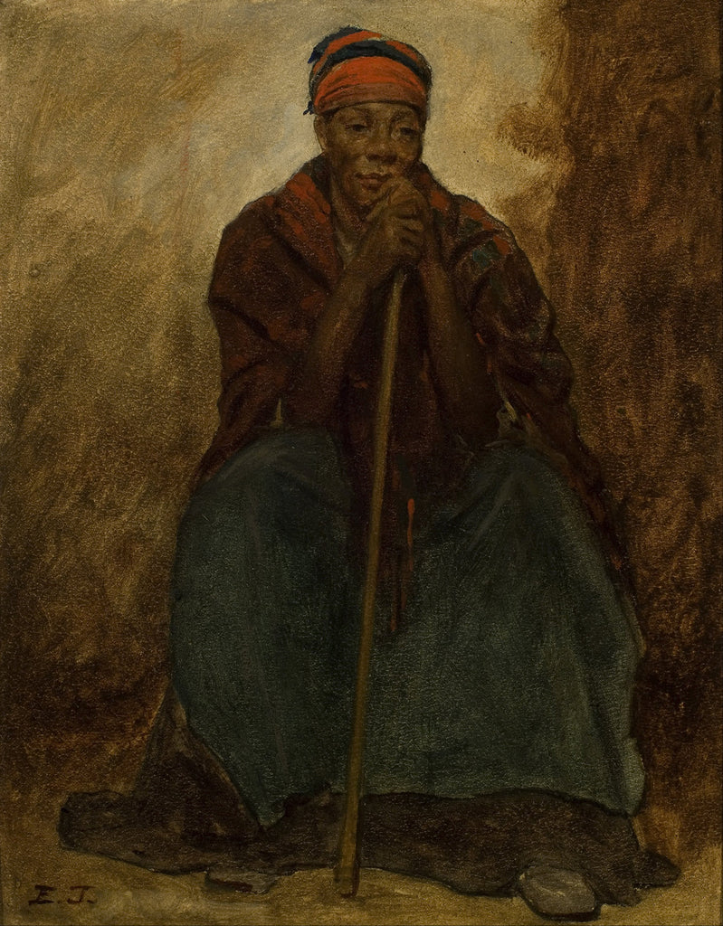 Eastman Johnson - Dinah, Portrait of a Negress
