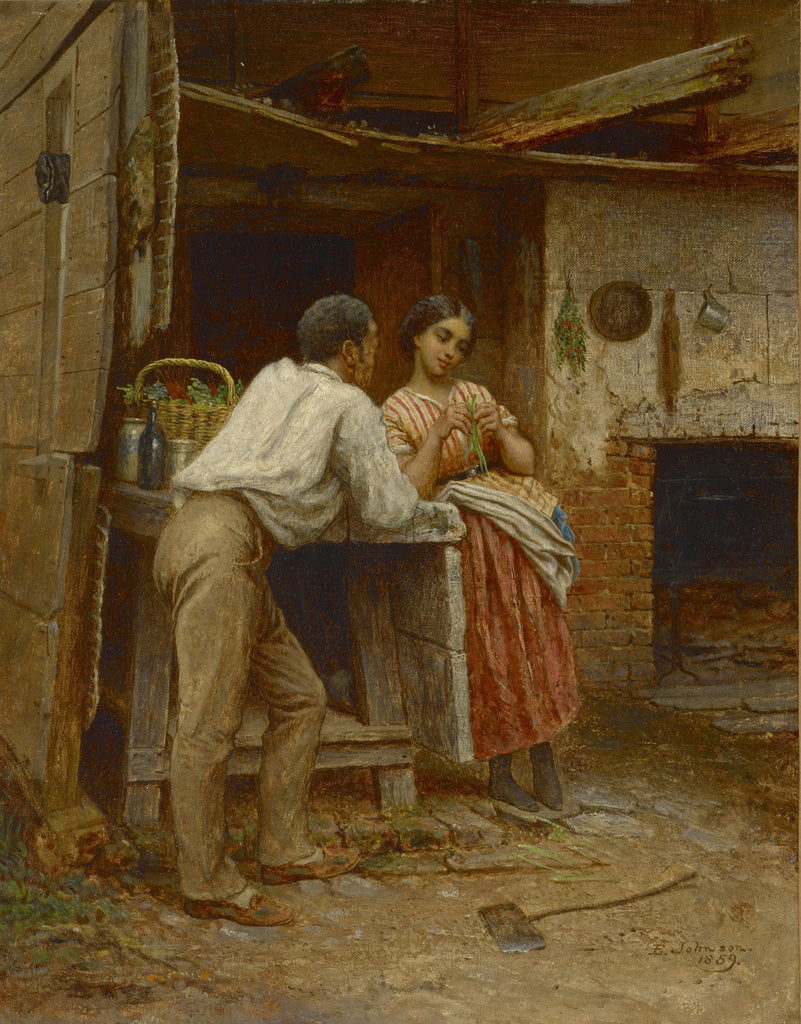 Eastman Johnson - Southern Courtship