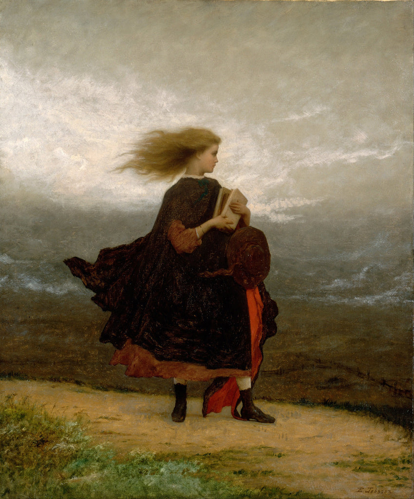 Eastman Johnson - The Girl I Left Behind Me