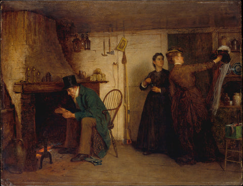 Eastman Johnson - The New Bonnet