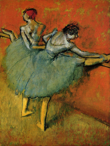 Edgar Degas - Dancers at the Bar