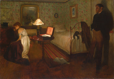 Edgar Degas - Interior