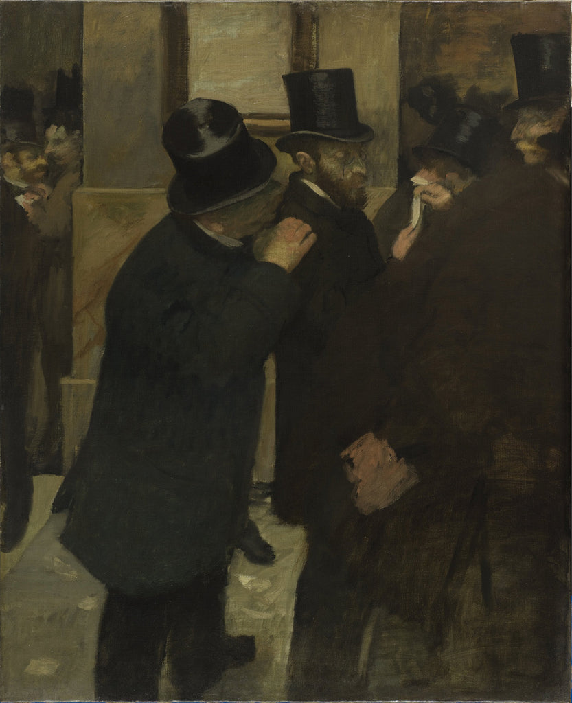 Edgar Degas - Portraits at the Stock Exchange