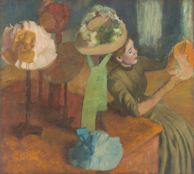 Edgar Degas - The Millinery Shop