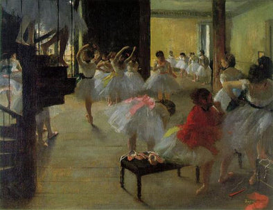Edgar Degas - Repetition of the Dance