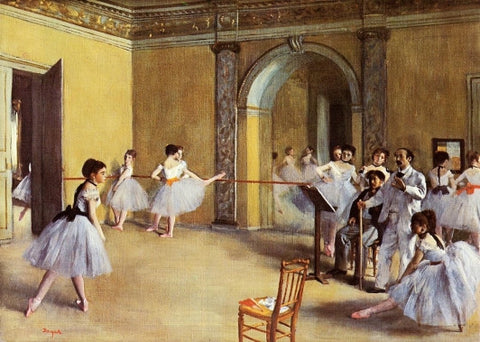 Edgar Degas - The Dance Class at Opera