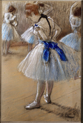 Edgar Degas - A Study of a Dancer