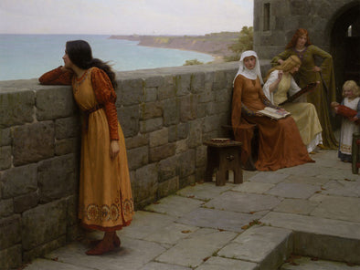 Edmund Blair Leighton - The Hostage