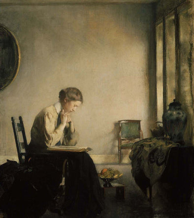 Edmund Charles Tarbell - Girl Reading