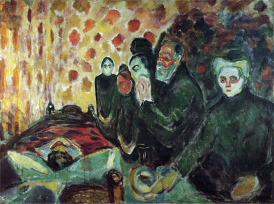 Edvard Munch - By the Deathbed