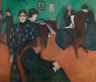 Edvard Munch - Death in the Sickroom