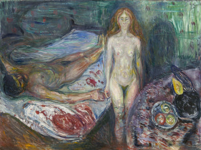 Edvard Munch - Death of Marat