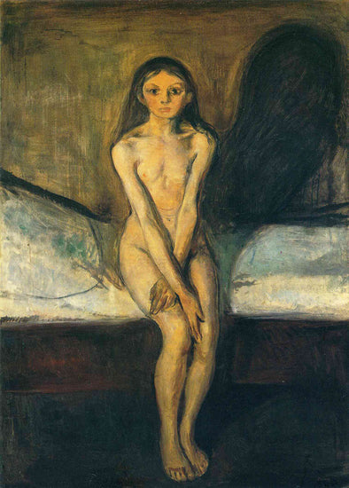Edvard Munch - Puberty