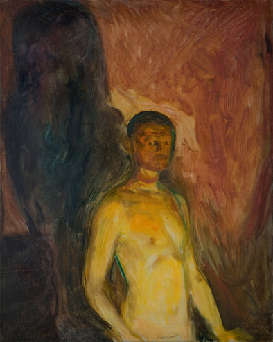 Edvard Munch - Self Portrait in Hell