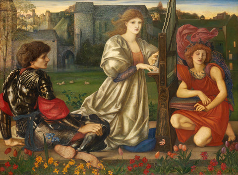 Edward Burne-Jones - Chant d'Amour