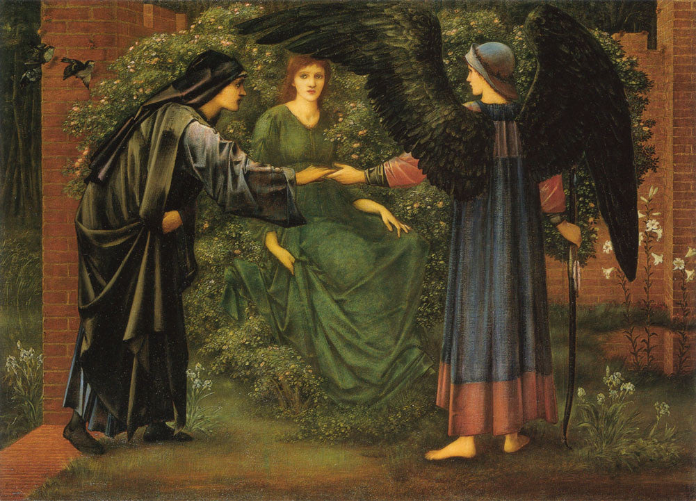 Edward Burne-Jones - Heart of the Rose