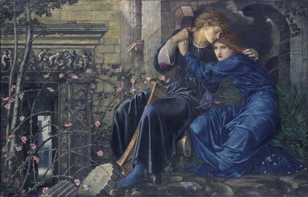 Edward Burne-Jones - Love among the Ruins