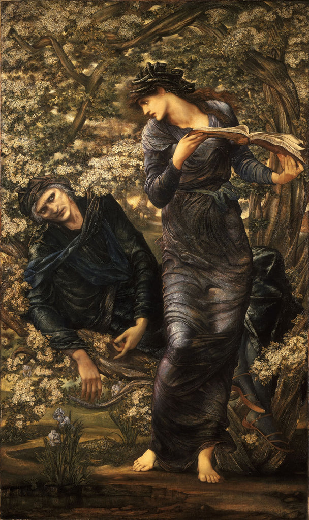 Edward Burne-Jones - The Beguiling of Merlin