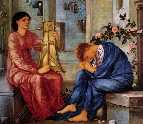Edward Burne-Jones - The Lament