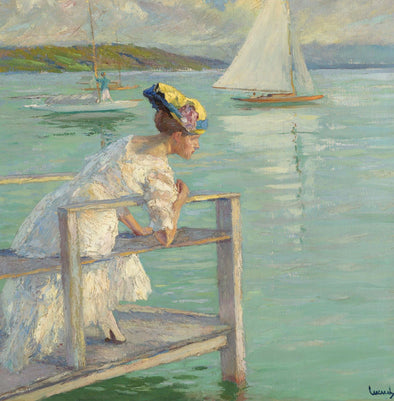 Edward Cucuel - On The Dock