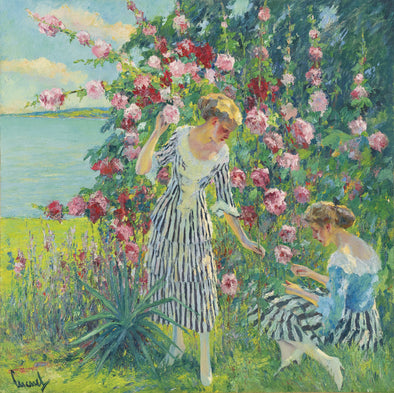 Edward Cucuel - Summer Flowers
