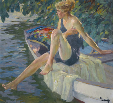 Edward Cucuel - The Bather