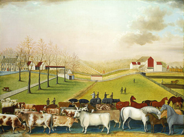 Edward Hicks - The Cornell Farm