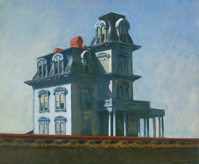 Edward Hopper - The House by the Railroad