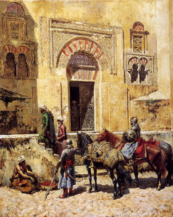 Edwin Lord Weeks - Entering the Mosque