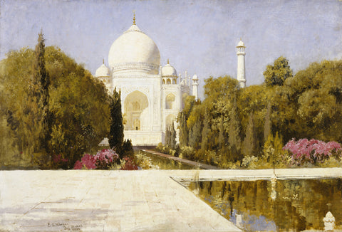 Edwin Lord Weeks - The Taj Mahal