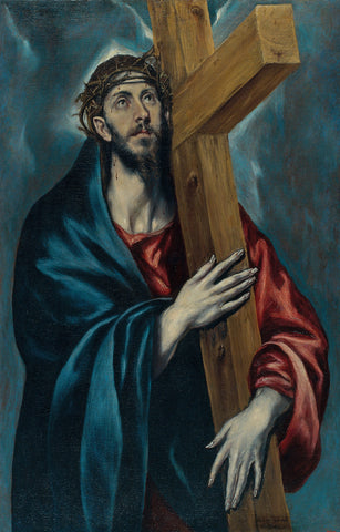 El Greco - Christ Carrying The Cross