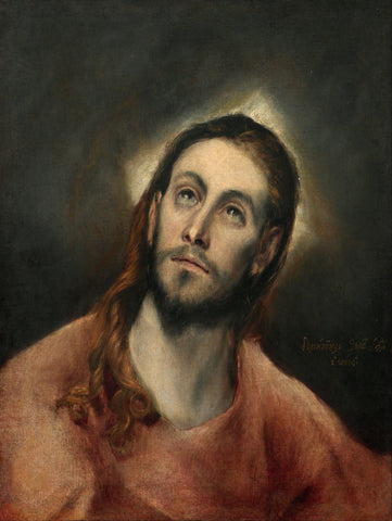 El Greco - Christ in Prayer
