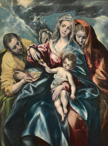 El Greco - Holy Family