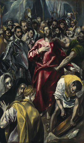 El Greco - The Disrobing of Christ