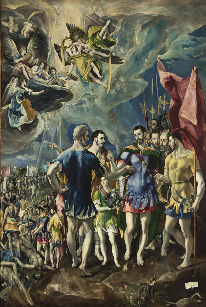 El Greco - The Martyrdom of St Maurice