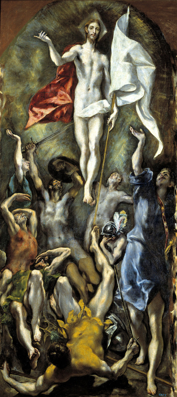 El Greco - The Resurrection