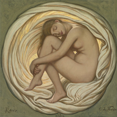Elihu Vedder - The Heart of the Rose