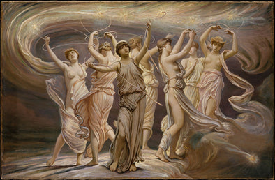 Elihu Vedder - The Pleiades