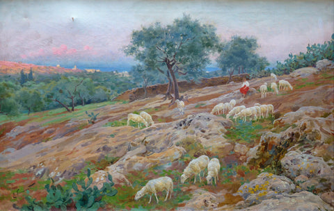 Enrique Simonet - Flock of Sheep