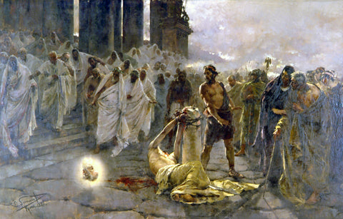 Enrique Simonet - The Beheading of Saint Paul