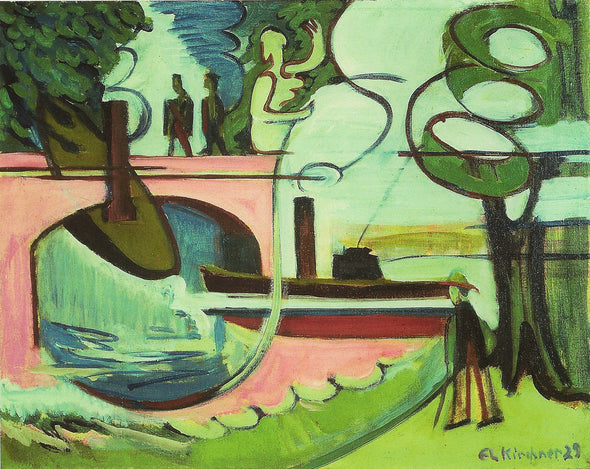 Ernst Ludwig Kirchner - Banks of the canal
